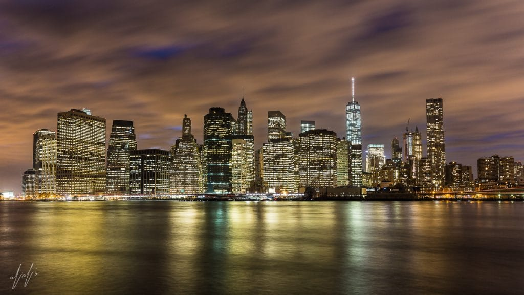 Lower Manhattan iconic skyline isn't it just mesmerizing