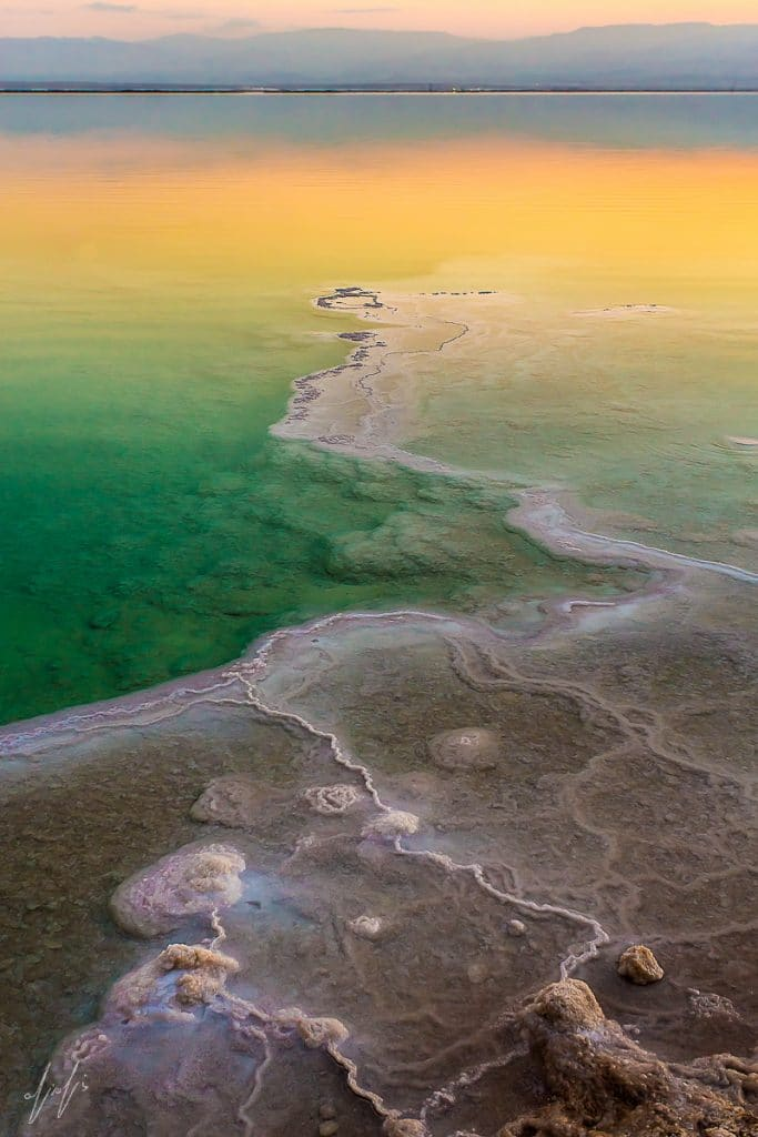 Amazing Sunrise, Dead Sea, Israel