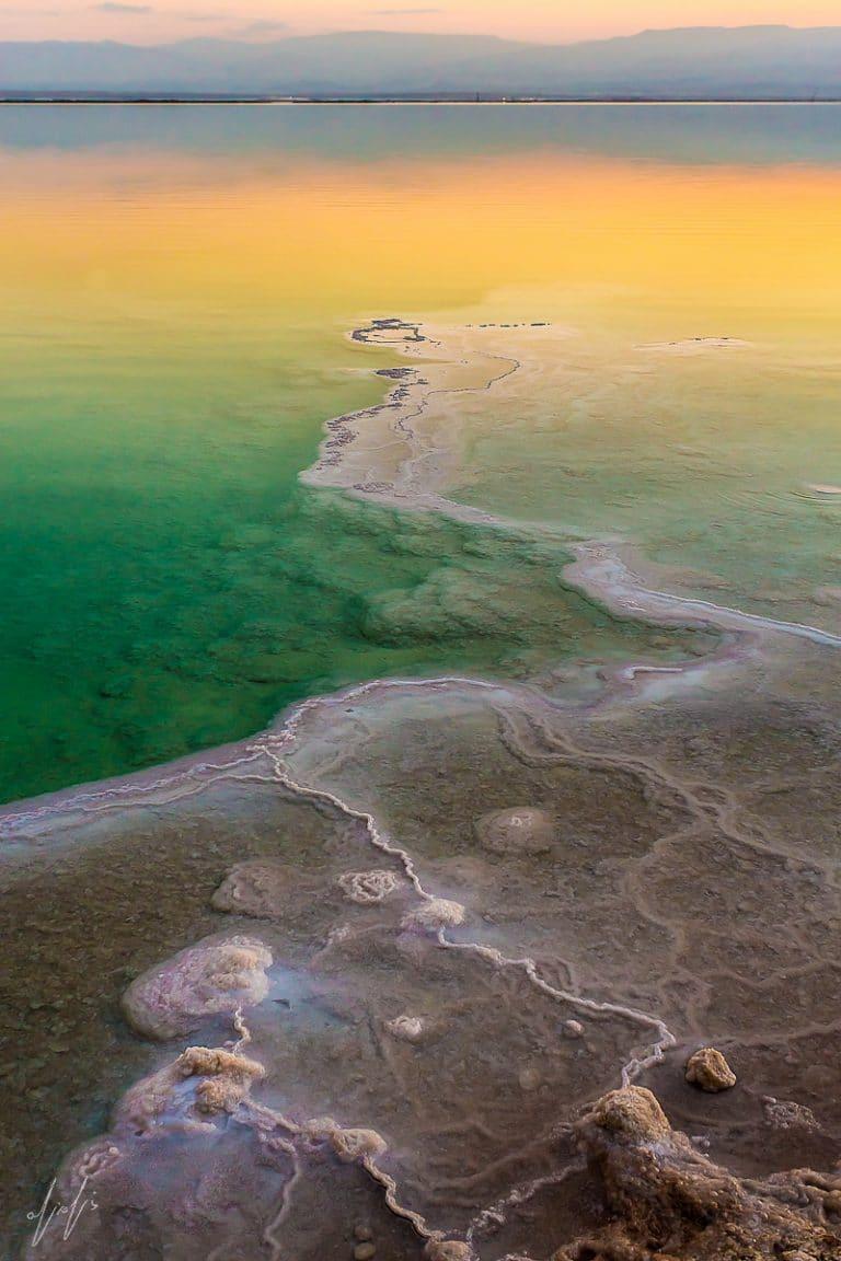 Amazing Sunrise, Dead Sea, Israel