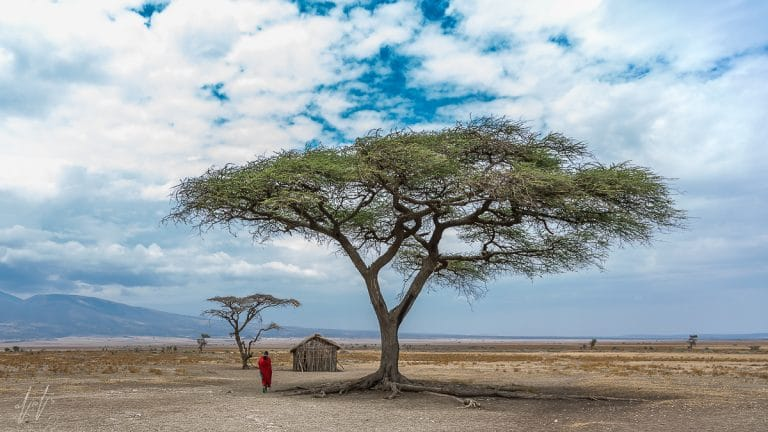 School in Masai village - Ngorongoro, Tanzania