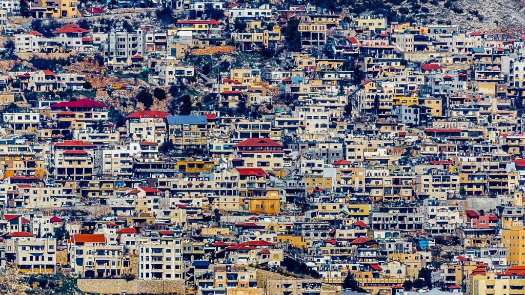 Urban panoramic city photography