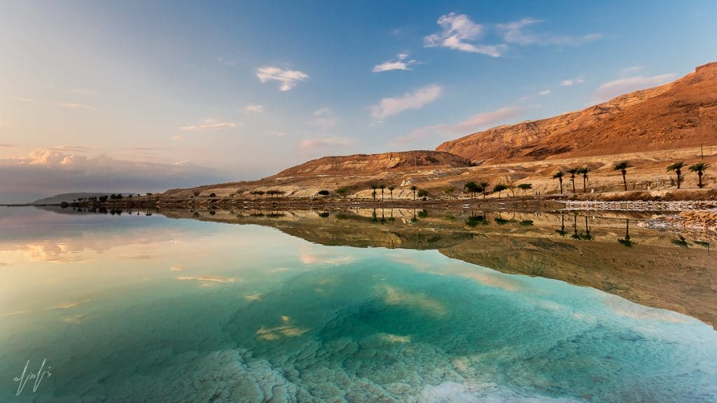 Reflection, Dead Sea, Israel